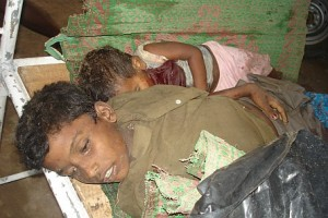 Tamil Children Killed in the Fighting
