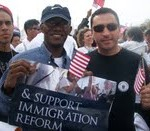 Oblate JPIC at Imigration Rally 3-21-10
