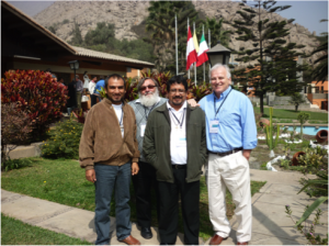 Oblates at Seminario Internationale in Peru June 2011
