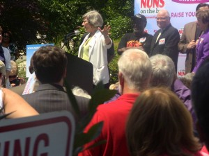 Nuns on the Bus - Sr Simone