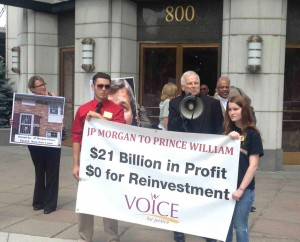 Fr. Seamus Finn, OMI calls for justice from JP Morgan Chase