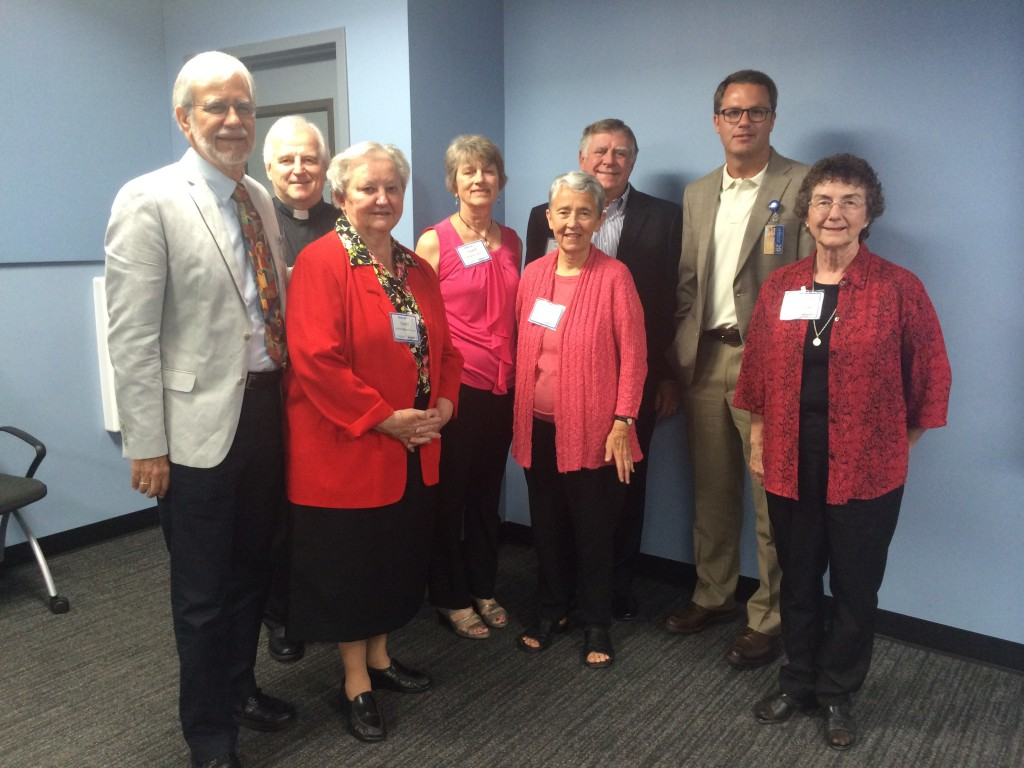 Oblates and ICCR meet with new Walmart CEO Doug MacMillan at company headquarters in Bentonville AK in July