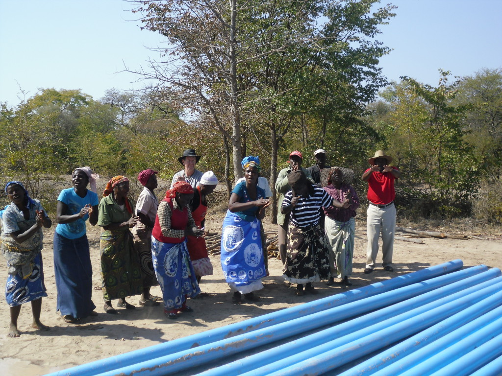 Zimbabwe Borehole For Clean Water